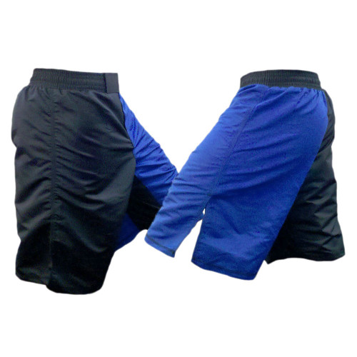 Black and Blue MMA Fight Shorts