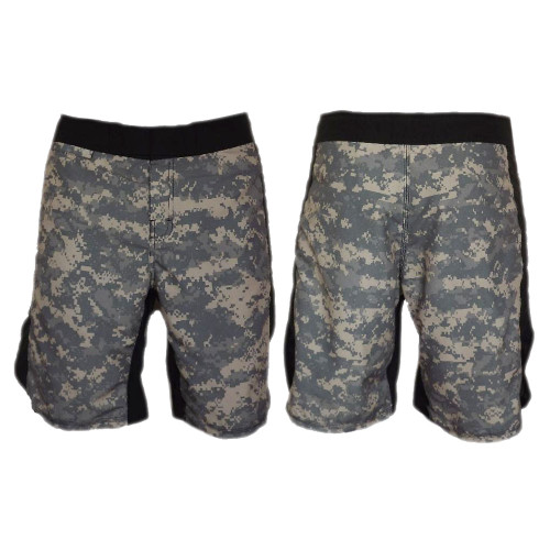 ACU Black MMA Fight Shorts