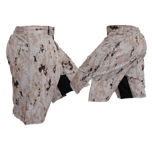 MARPAT Desert Digi Cam Fight Shorts
