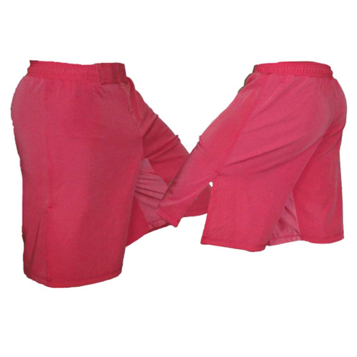 Youth Pink MMA Fight Shorts