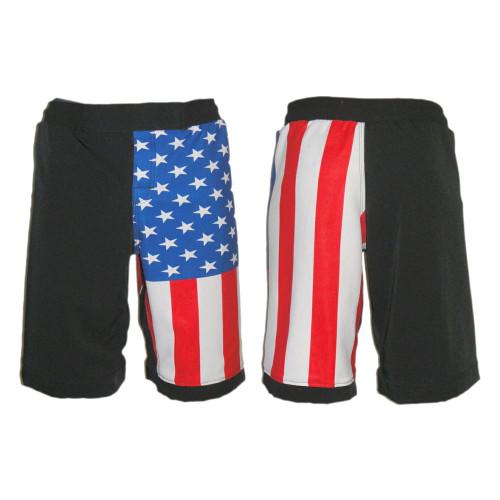 USA Flag MMA Fight Shorts