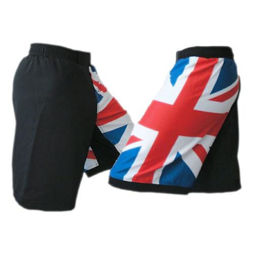 United Kingdom Flag MMA Fight Shorts