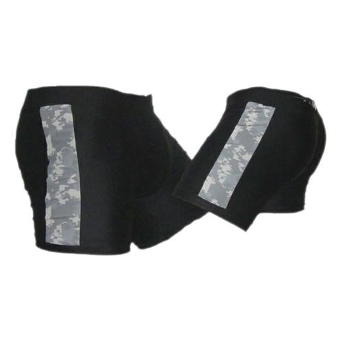 Black and ACU Tudo MMA Fight Shorts
