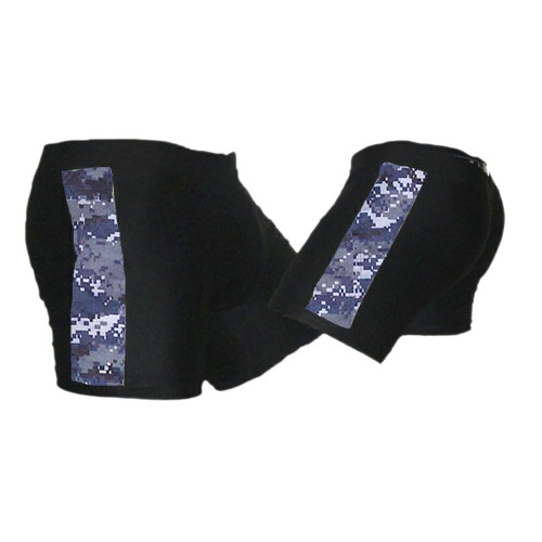Black & NWU - Navy Camo - Tudo MMA Fight Shorts