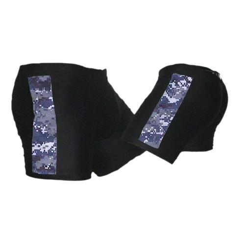 Black & NWU - Navy Camo - Tudo MMA Fight Shorts