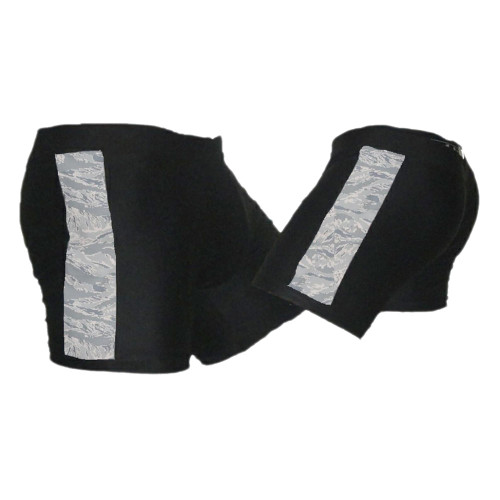 Black & ABU - Air Force Camo - Tudo MMA Fight Shorts
