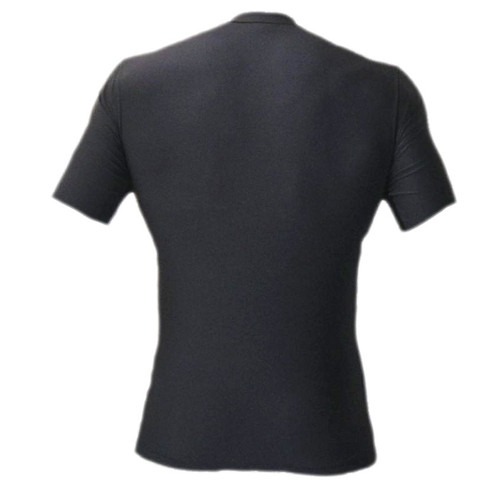Black Rash Guard MMA Shirt