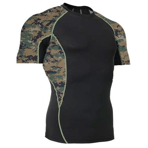 MARPAT Side Panel Rash Guard MMA Shirt