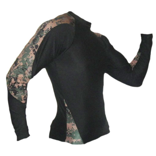 MARPAT Digi Cam Long Sleeve Rash Guard MMA Shirt