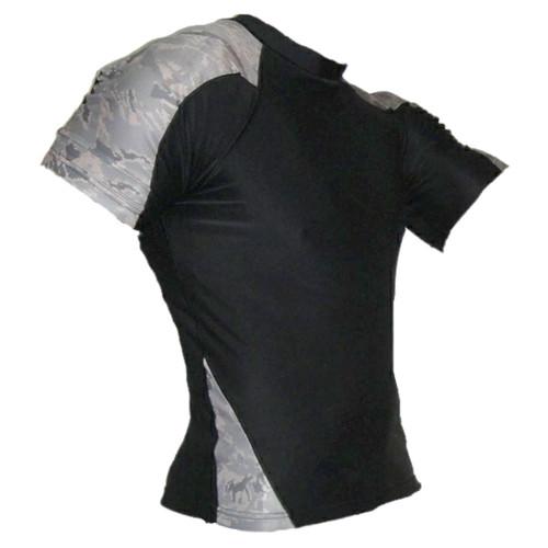 Air Force Camo Rash Guard MMA Shirt
