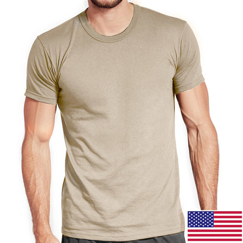 Sand OCP T-Shirt 100 Percent Cotton Poly 3-Pack