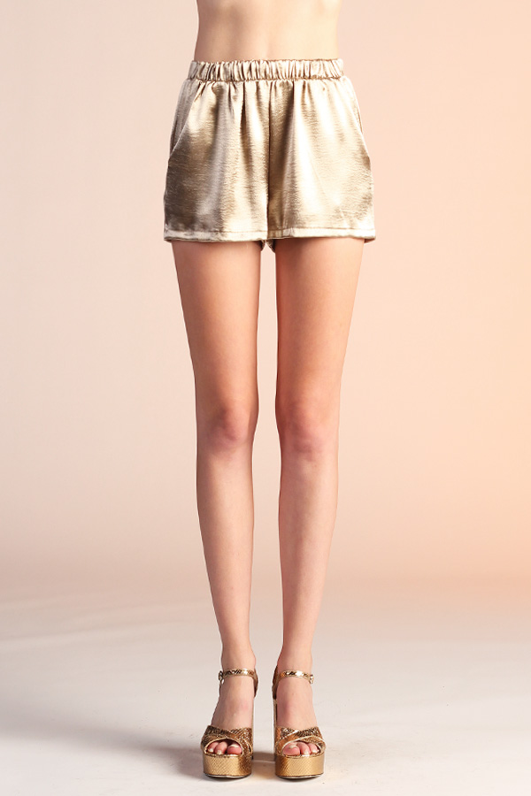 Liquid Satin Shorts P-4025