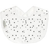Silly Billyz waterproof biblets are sized just right to be baby's first feeding bib. The beautifully soft cotton jersey is absorbent and gentle on little faces. Easy wash and wear, perfect for breast or bottle feeding bubs.  Dimensions:  19cm x 25cm