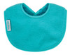 This nifty Biblet is sized just right to be your baby's first bib! The soft and liquid repellent fabric will keep baby's sensitive skin dry, plus it protects those first sweet outfits. Made from Snuggly Fleece with a water-resistant nylon backing.  Small enough to leave on for extended periods of time. The triple snap closure lets you choose the size, so this handy newborn bib grows with your baby.