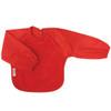 Red Towel Long Sleeve Bib