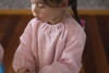 Antique Pink Towel Long Sleeve Bib