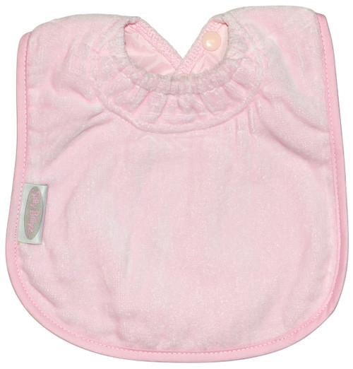 Pale Pink Towel Large Bib
