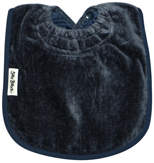 Navy Towel Large Bib