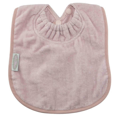 Antique Pink Towel Large Bib