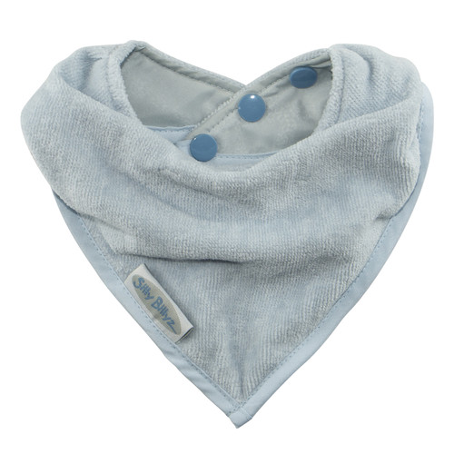 Dusty Blue Towel Bandana