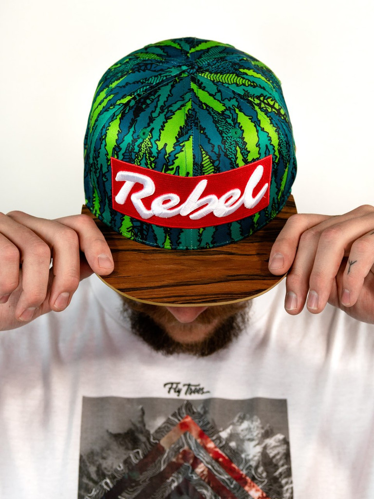 Fly Trees Edition Wood Brim Rebel Hat