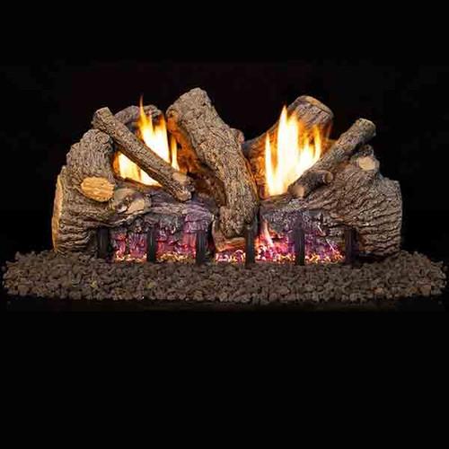 Real Frye 18 Inch Foothill Oak Vent Free Logs