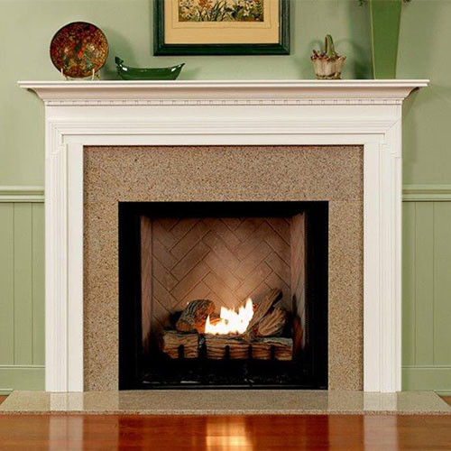 BRAVADA WOOD MANTEL - STANDARD SIZES