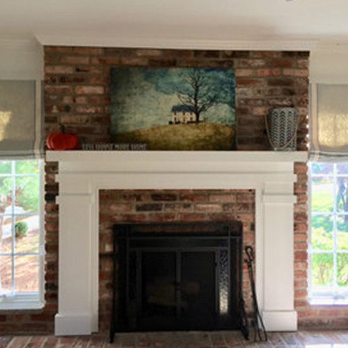 BRIDGEWATER CUSTOM FIREPLACE MANTEL