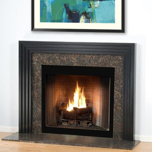 CONTEMPORARY CUSTOM WOOD FIREPLACE MANTEL