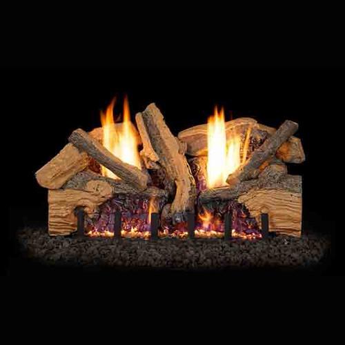 Real Frye 24 Inch Foothill Split Oak Vent Free Logs