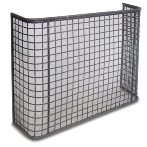 "Pilgrim Curved Simple Panel Manor Screen 39""W x 31""H"