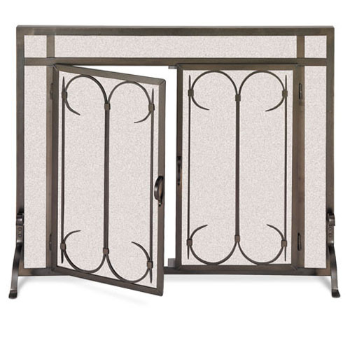 18425 Iron Gate Screen With Doors