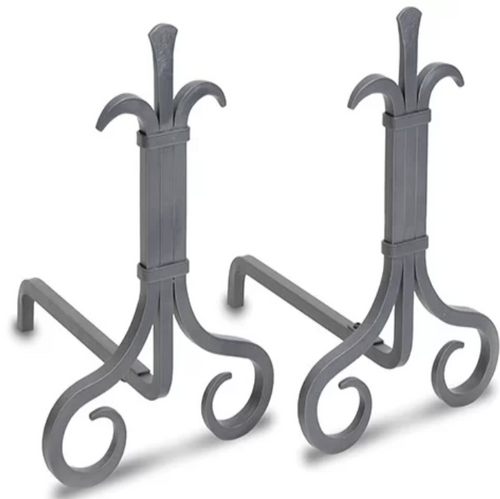Pilgrim Grand Forge Andirons