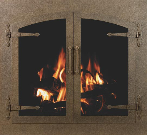 Arch Conversion Fireplace Doors