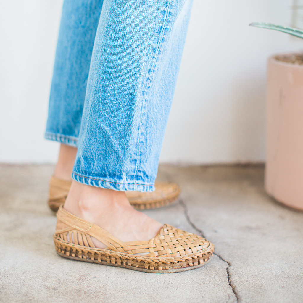 Mohinders : Woven Flat City Shoe