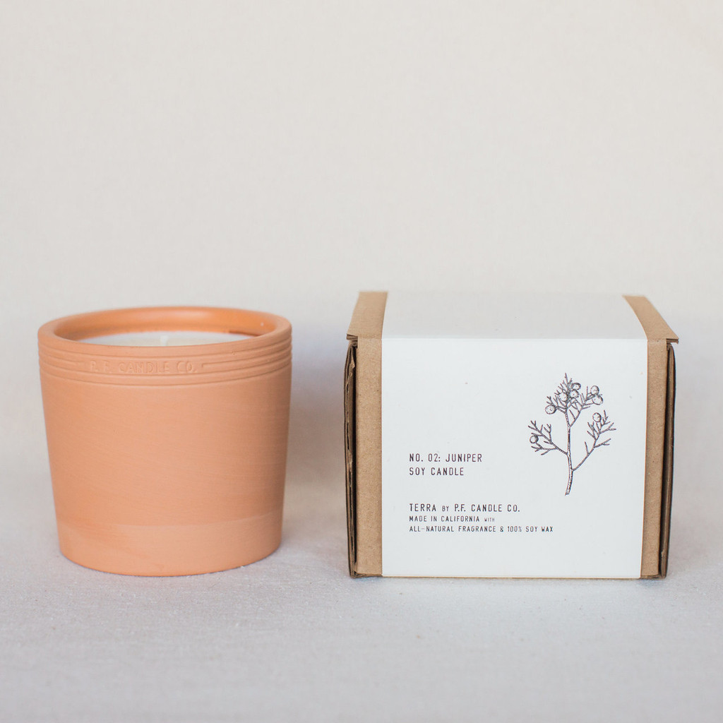 P.F. Candle Co. : Juniper Terra Candle