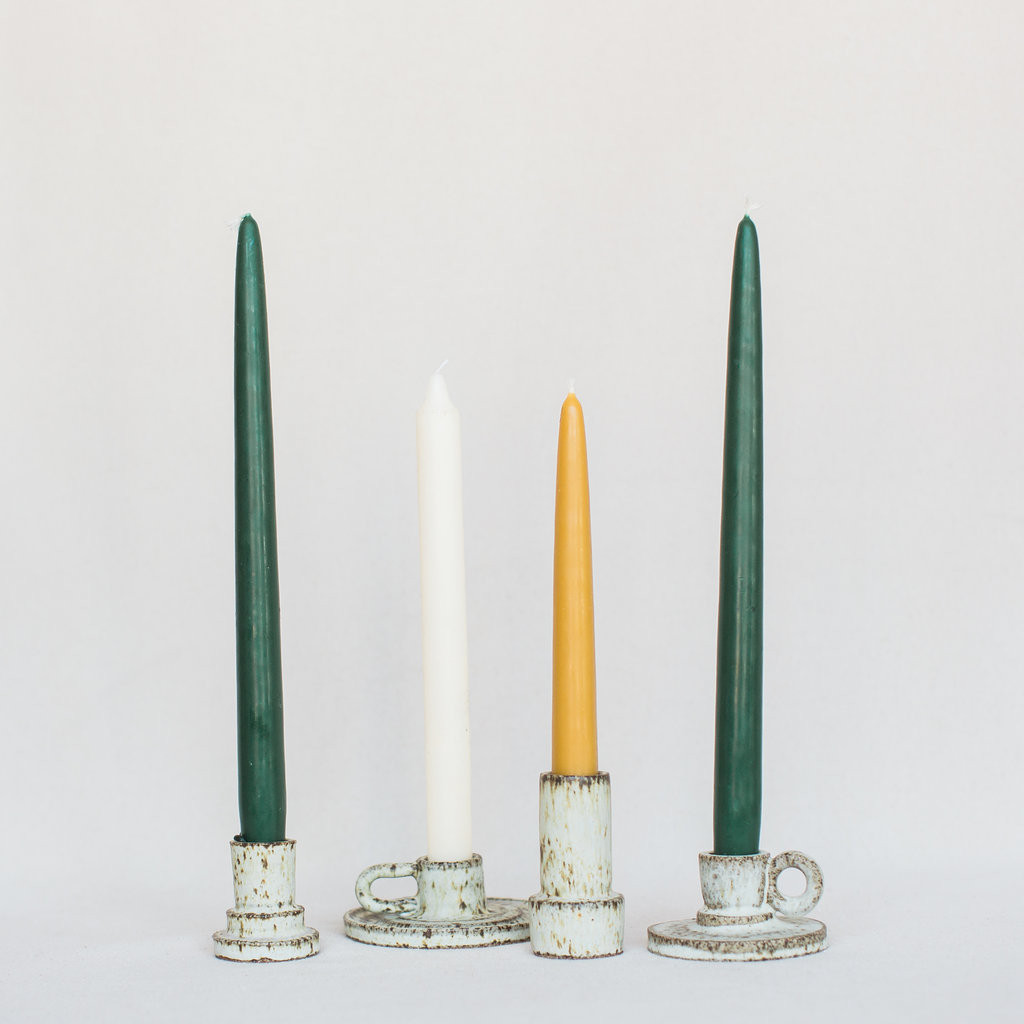 Sara Winkle : Cabin Candle Holders