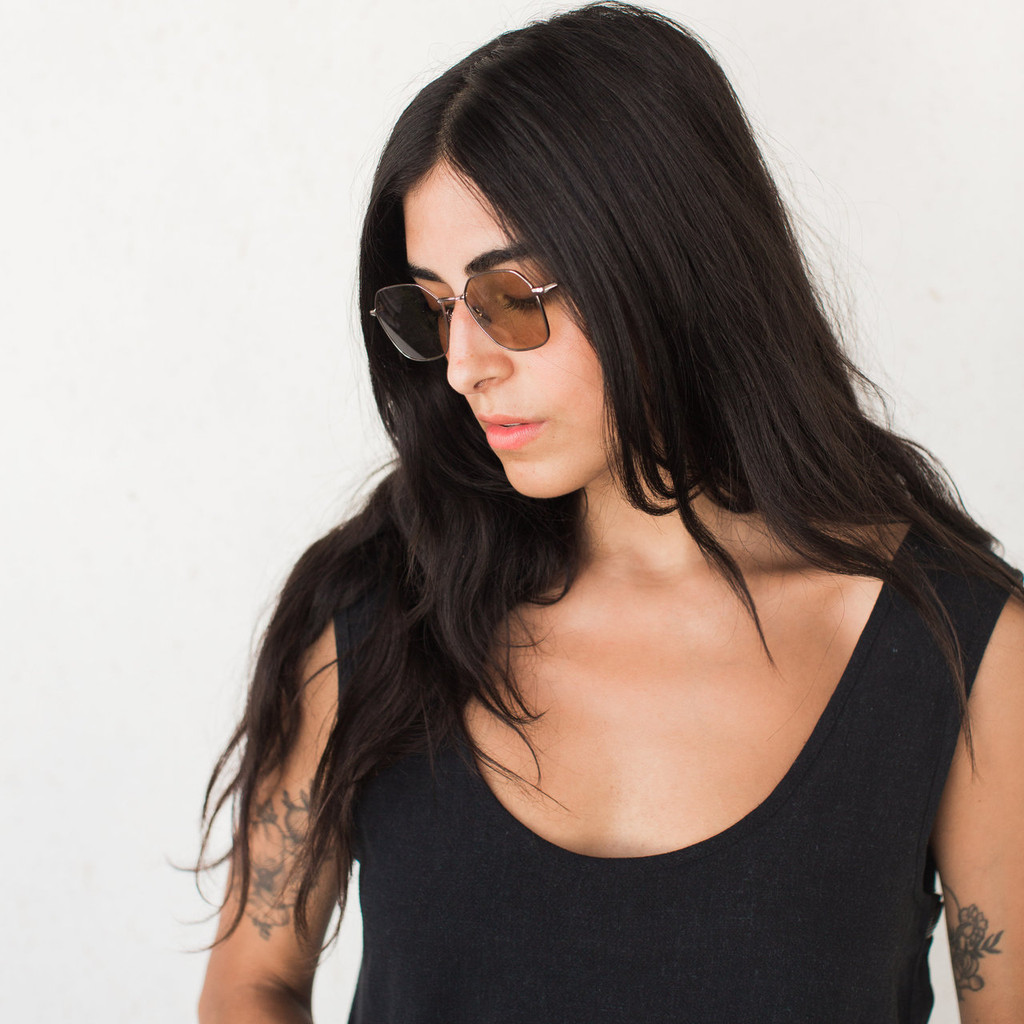 RAEN : Varlin Sunglasses in Gunmetal