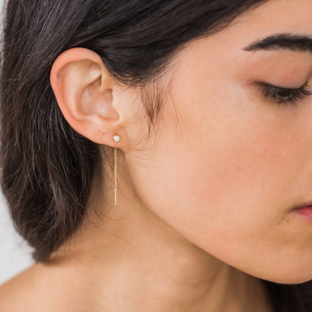 Maya Brenner : Threader Earring
