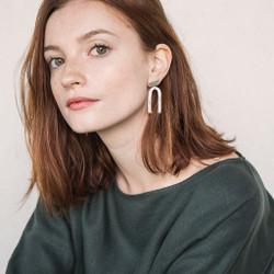 Seaworthy : Bella Earrings in Silver