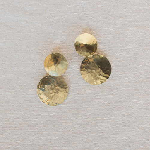 Crescioni : Double Terra Earrings