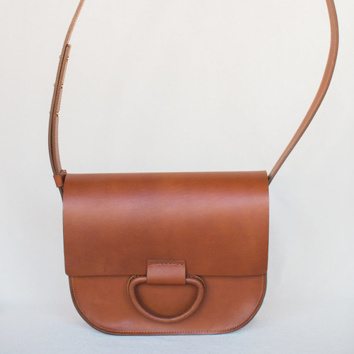 Crescioni : Logan Bag Saddle Brown