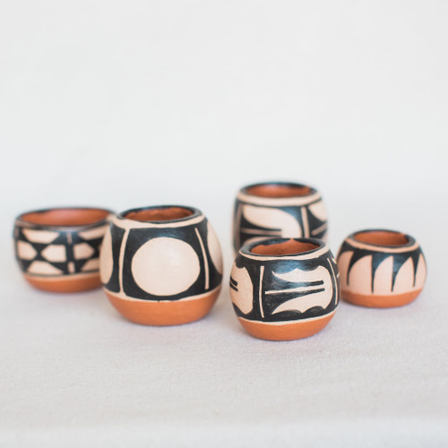 Santo Domingo Pueblo - Red Clay Bowls