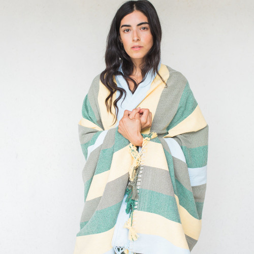 Paradise People : Forest Stripe Blanket