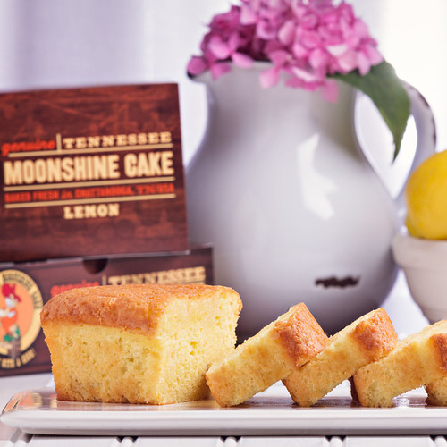 Lemon Moonshine Cake