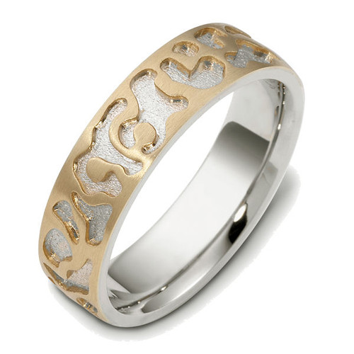 6.0 MM Contemporary Wedding Ring