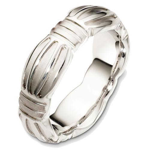 Contemporary Wedding Ring