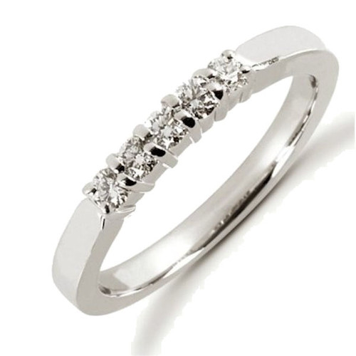 0.25 Ct Tw 5-Stone Diamond Anniversary Ring