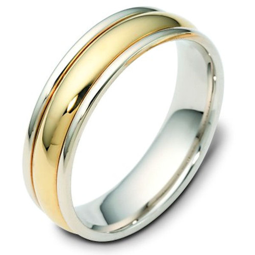 Domed Classic Wedding Band