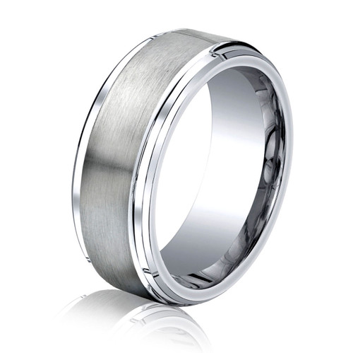 Cobalt Chrome Classic Wedding Ring